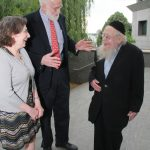 Rabbi Steinsaltz with Drs Groopman and Hartzband
