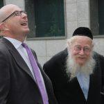 Rabbi Steinsaltz and Dr. Jeremy Levin