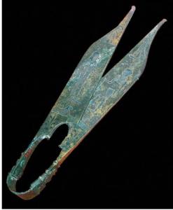 Ancient scissors