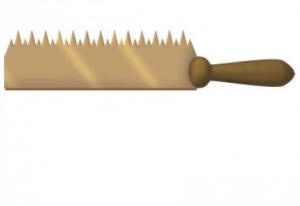 Teeth of a saw